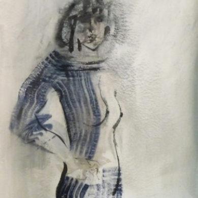Figur II | 2011 | Mischtechnik | 64 x 50 cm