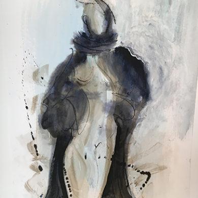 Figur VII | 2011 | Mischtechnik | 65 x 50 cm