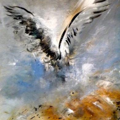 Flügel I | Mischtechnik | 2011 | 75 x 57 cm