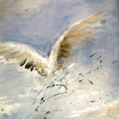 Flügel II | 2011 | Mischtechnik | 75 x 57 cm