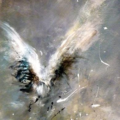 Fluegel 4 | 2011 | Mischtechnik | 65 x 50 cm