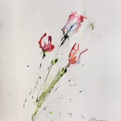Flowers | Mixed Media | 50 x 65 cm
