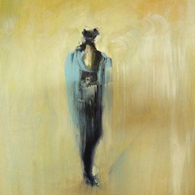 Figur X | 2011 | Acryl | 65 x 50 cm