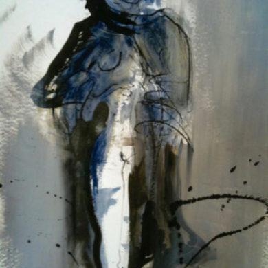 Figur I | 2011 | Mischtechnik | 64 x 50 cm