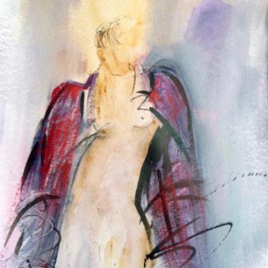 Figur III | 2011 | Mischtechnik | 64 x 50 cm