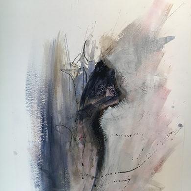 Figur VI | 2011 | Mischtechnik | 65x50cm