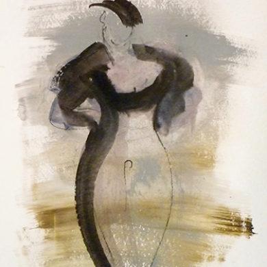 Figur VIII | 2011 | Mischtechnik | 65 x 50 cm