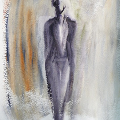 Figur IX | 2011 |Acryl | 65 x 50 cm