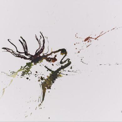 Der Ruf des Waldes | Mixed Media | 50 x 70 cm