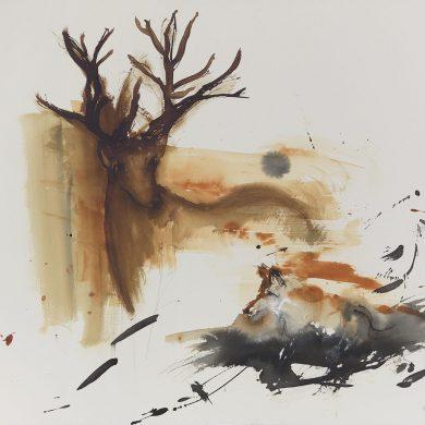 The Encounter | Mixed Media | 56 x 76 cm